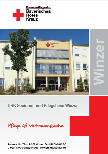 Titelseite BRK Winzer
